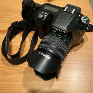 決まりました!PENTAX K100D 一眼レフカメラ