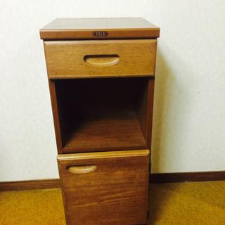 玄関収納 電話代 靴箱 木製 小物入れ