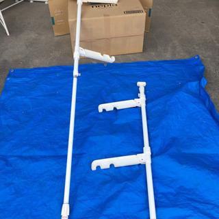 k2 屋内用突っ張り棒物干し竿受け物干し台 小