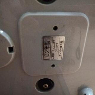 タイガーマイコン炊飯ジャー 中古品 2002年製 - 家電