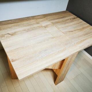 FIKA テーブル 折りたたみテーブル サイズ可変