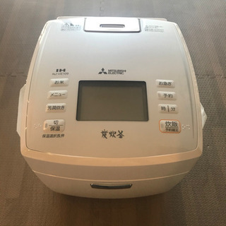新品未使用 MITSUBISHI NJ-VE109-W 炊飯器