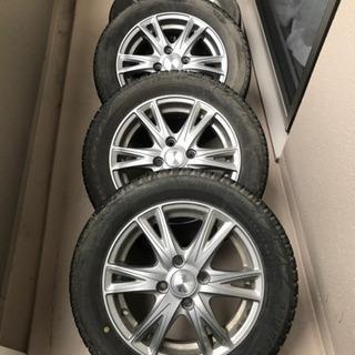 スタッドレスタイヤ165/65/R14 ホイール 4本セット