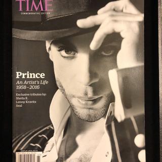 Used美品 雑誌 TIME Prince特集 2016年発行