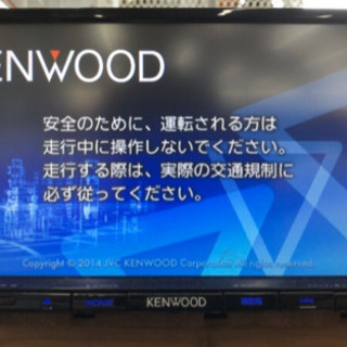 ケンウッド2014年モデル 人気機種 彩速ナビ MDV-L401...