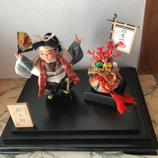 五月人形 桃太郎 ケース飾り 幸一光作 7号
