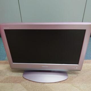 中古TOSHIBA液晶テレビ19インチいりませんか?
