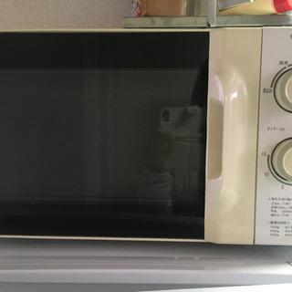 電子レンジ、炊飯器、トースター