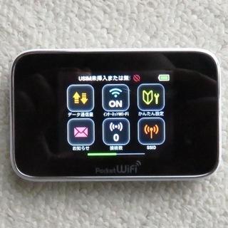 SIMロック解除済 モバイルポケットWi-Fi HUAWEI 3...