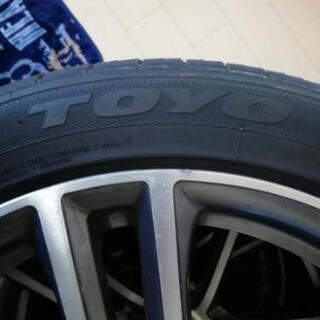 タイヤホイールセット TOYO SD-7 225/45R18 サ...