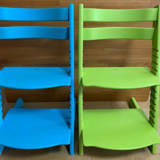 STOKKE TRIPP TRAPP 椅子2脚×2500円