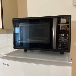 【3000円】シャープ 電子レンジ オーブン機能付き