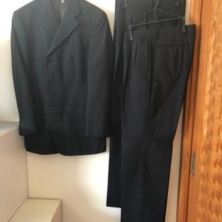 メンズ(春夏) ツーパンツ黒スーツ
