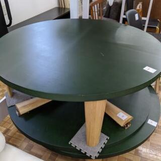 折りたたみテーブル 丸テーブル 座卓 カジュアル センターテーブ...