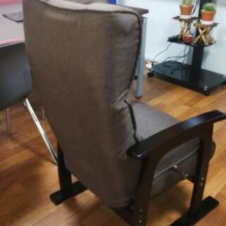 高座椅子 レバー式 リクライニング (値下げしました) - 鎌倉市