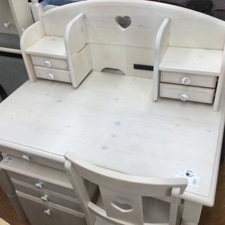 デスクセット 関家具 ホワイト