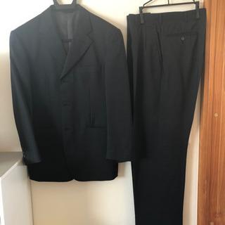 メンズスーツ黒(春夏)