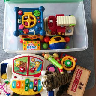 【値下げ】子ども用 おもちゃ まとめ売り クリアボックス付き