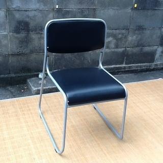 【0円】1脚だけ ミーテイングチェア、パイプ椅子 訳ありですがど...