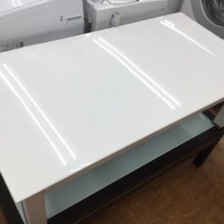 ニトリ センターテーブル ホワイト エナメル