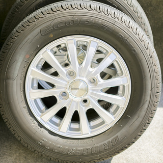 N-VANのタイヤ4本セット(ホイール付き)(美品) - 高知市