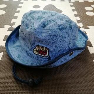 新品 ハット 帽子 恐竜 ブルー 56cm