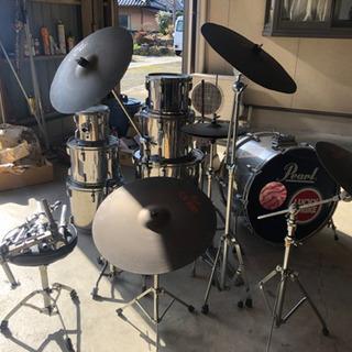 Pearl ドラムセット  ※スネア欠品  岐阜県可児市