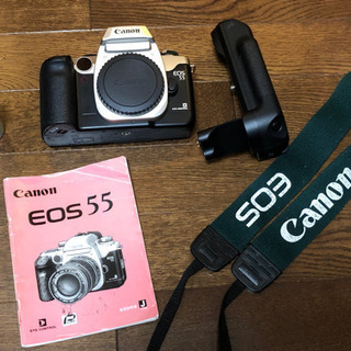 聞き取れる方限定 /  銀塩カメラ Canon EOS 55