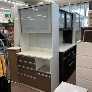 ◇高橋木工所 上品な高級食器棚 ブルモーション
