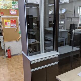 食器棚 キッチン収納 スロークローザー扉 美品