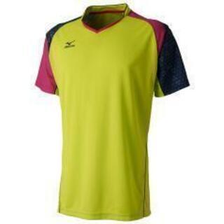【未開封】 スポーツウェア(ミズノ)Tシャツ(ピンク×グリーン)...
