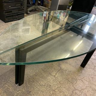 強化ガラステーブル センターテーブル テレビ台