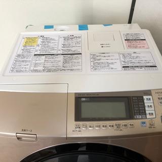 HITACHI  日立 ドラム式 洗濯乾燥機