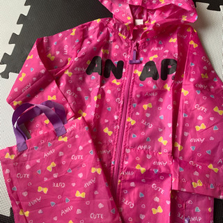 ANAPkids 雨具 カッパ