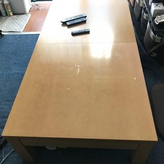 伸縮 座卓テーブル 習い事テーブルなど如何ですか?