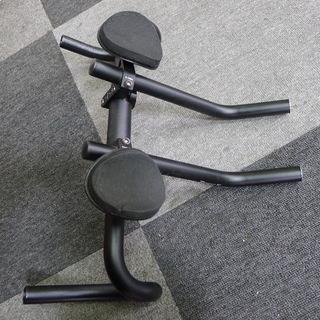 ロードバイク用 エアロバー+ドロップハンドル ドレスアップ用 ジャンク