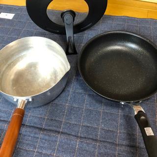 雪平鍋、フライパン、鍋蓋セット IH対応