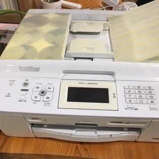 ブラザー複合機(MFC-J960DN-W)・電話子機2台付き