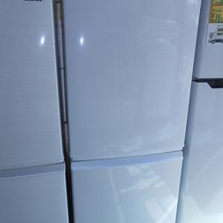 SHARP 2015年製品 137L 2ドア冷蔵庫
