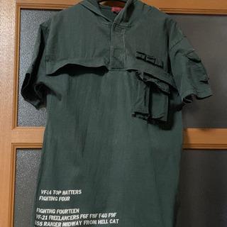 パーカーシャツ
