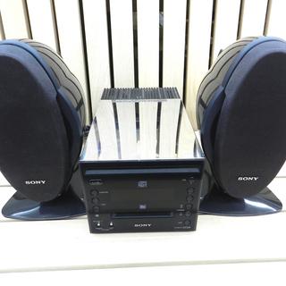 ソニー CD MDコンポ HCD-C5 MD CD再生のみ確認O...