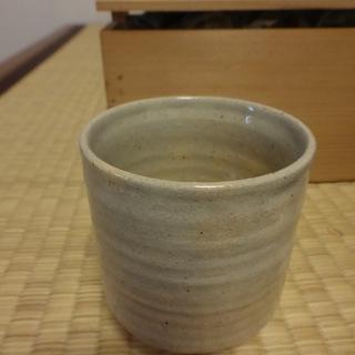 萩焼の湯のみセット 5個 木箱付き 新品