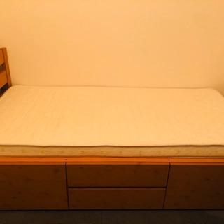 ニトリ収納付きベッド!!!!!
