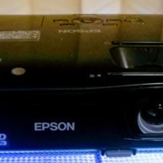 (自動補正)ホームプロジェクター(EPSON)BLACK