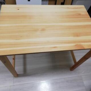 無印良品の折りたたみテーブル