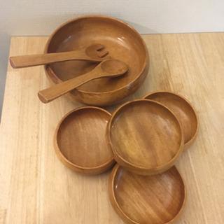サラダボウル セット 木椀 木製