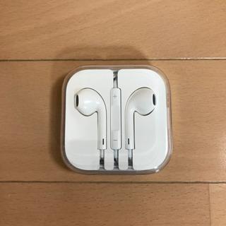 【新品未使用】Apple純正イヤホン