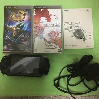 PSP、モンハン3、ファイナルファンタジー零式