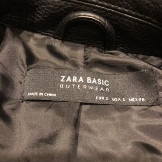 【値下げ中】ZARA ライダース 黒
