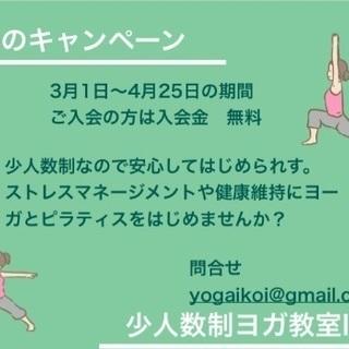 春の入会キャンペーン!